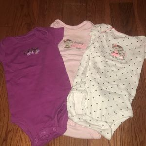 JUST ONE YOU by Carters Onesies